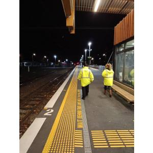 Night patrols include local Railway stations